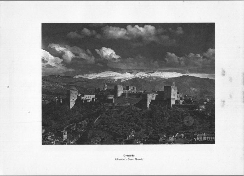 Photo 003: Granada Alhambra – Sierra Nevada