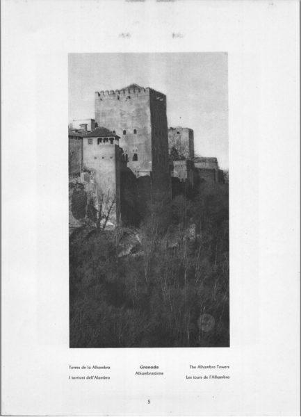 Photo 005: Granada – The Alhambra Towers