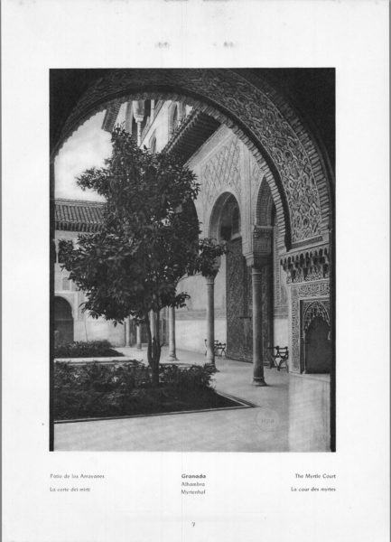 Photo 007: Granada Alhambra – The Myrtle Court