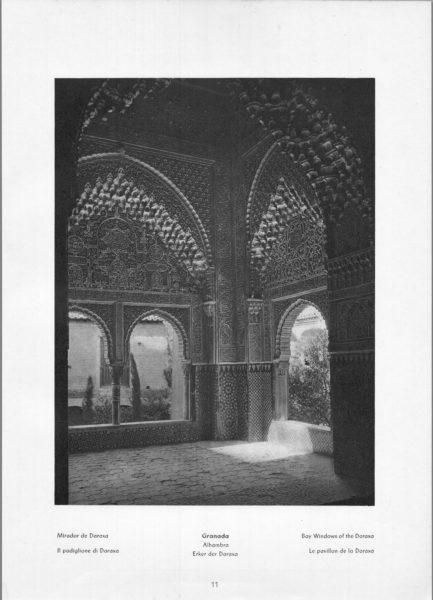 Photo 011: Granada Alhambra – Bay Windows of the Daraxa
