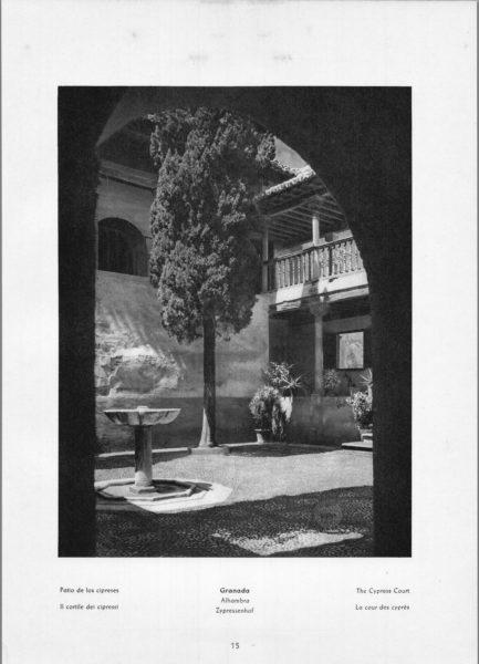 Photo 015: Granada Alhambra – The Cypress Court