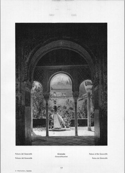 Photo 017: Granada Generalife – Palace of the Generalife