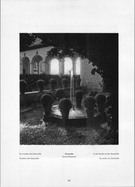 Photo 020: Granada Generalife – In the Garden of the Generalife