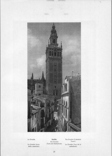 Photo 031: Sevilla Giralda – The Giralda (Cathedral Tower)