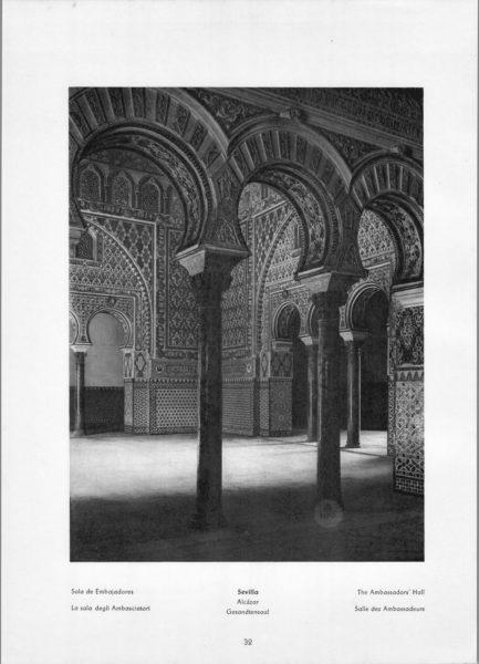 Photo 032: Sevilla – The Embassadors' Hall