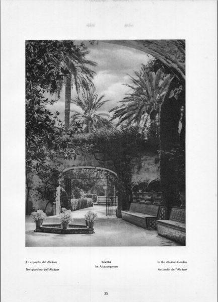 Photo 035: Sevilla Alcázar – In The Alcázar Garden