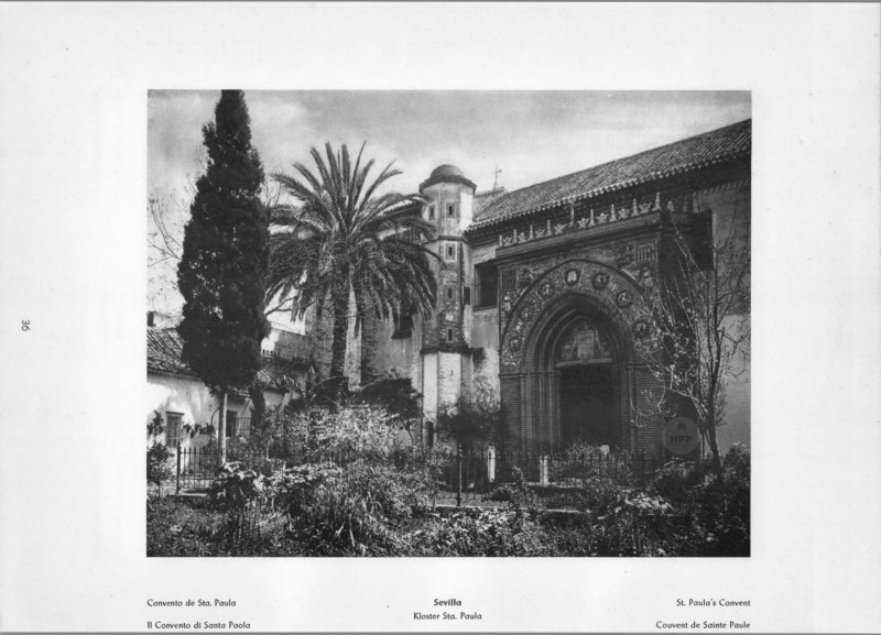 Photo 036: Sevilla – St. Paula's Convent
