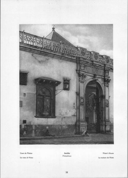 Photo 038: Sevilla – Pilate's House