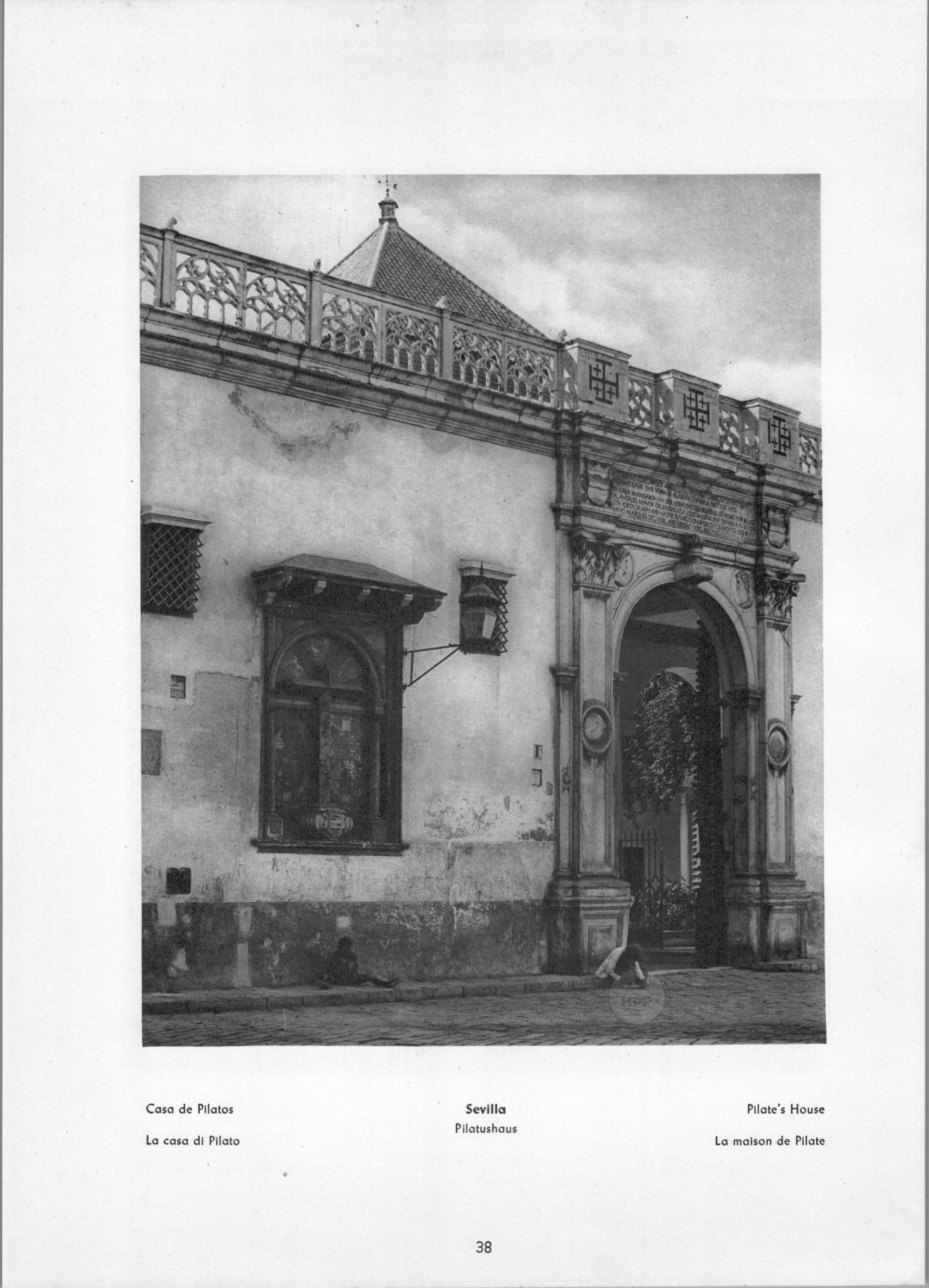 Sevilla - Pilate's House