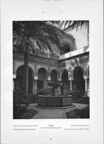 Photo 041: Sevilla – Court in Duke Alba's Palace