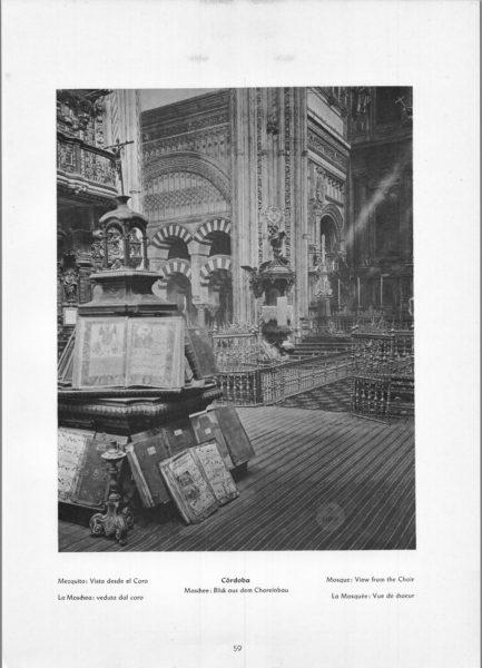 Photo 059: Córdoba Mosque – Mosque: View from the Choir