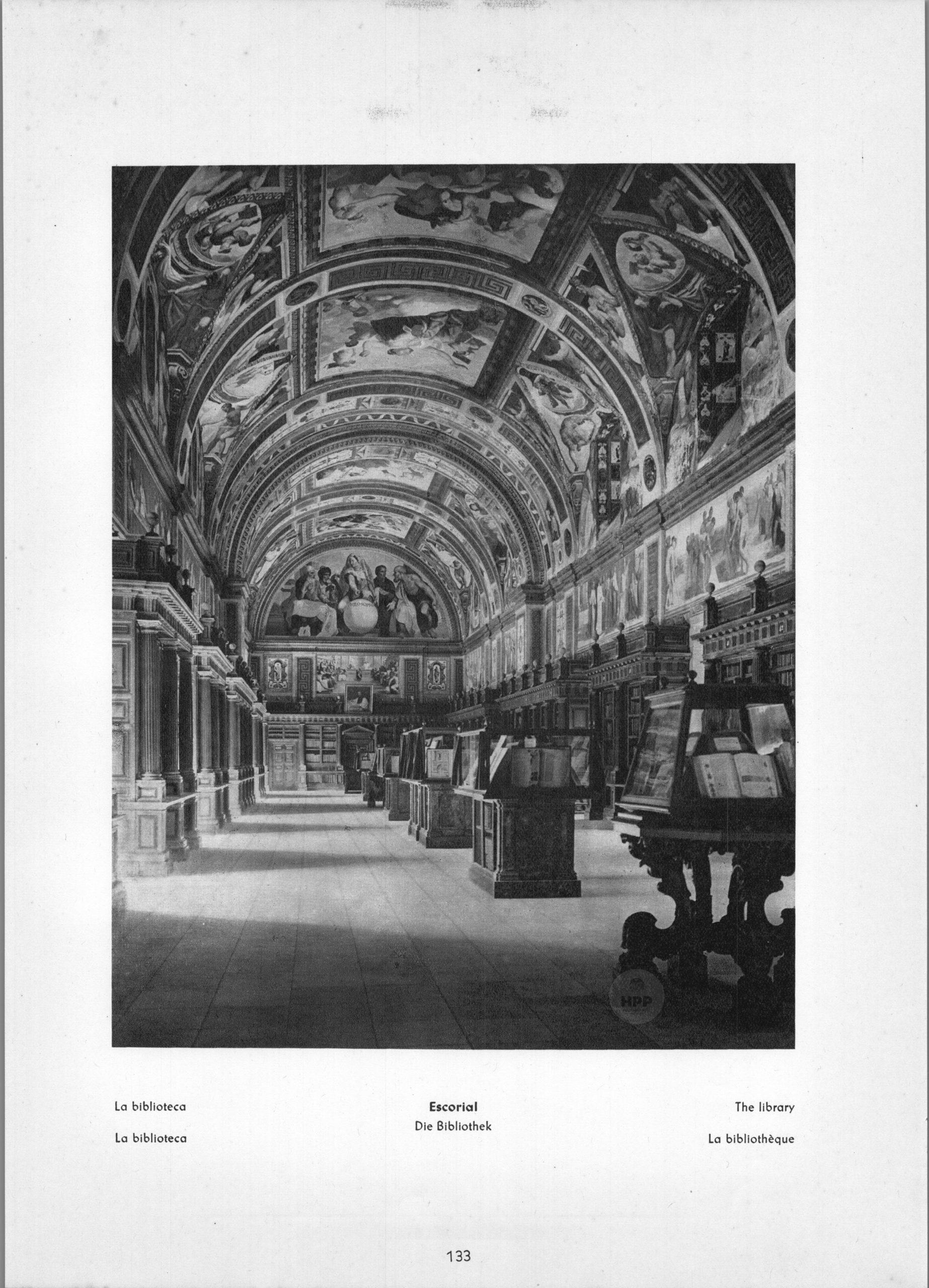 Escorial - The library