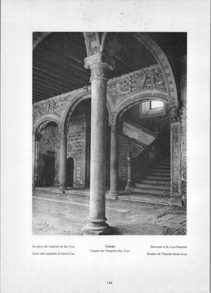 Photo 144: Toledo – Staircase in St. Cruz Hospital