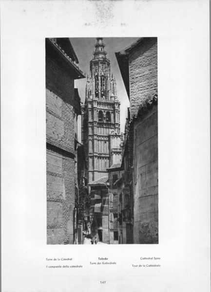 Photo 147: Toledo – Cathedral Spire