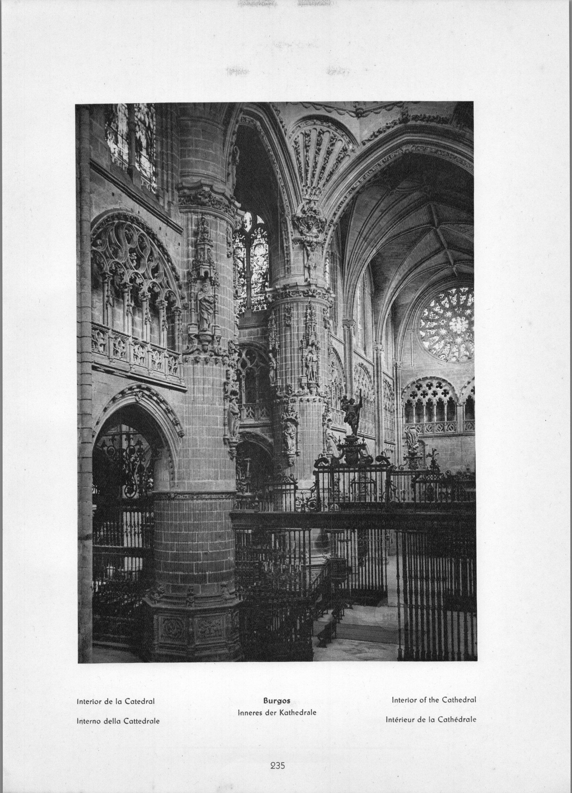 Burgos Altar - La Catedral