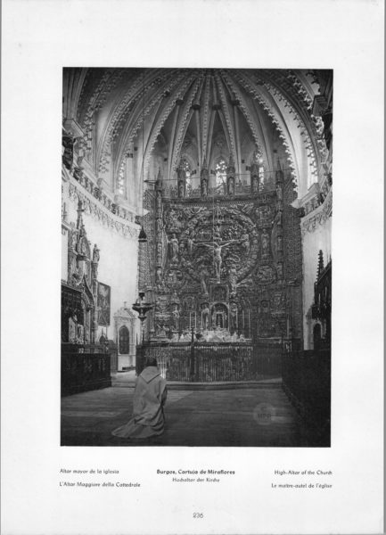 Photo 236: Burgos Altar – Cartuja de Miraflores