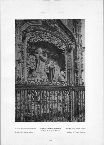 Photo 237: Burgos Sepulcro del infante Don Alfonso – Cartuja de Miraflores