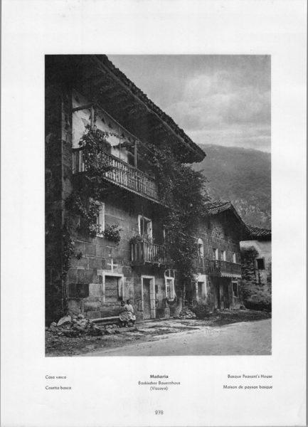 Photo 278: Vizcaya Mañaria – Casa vasca