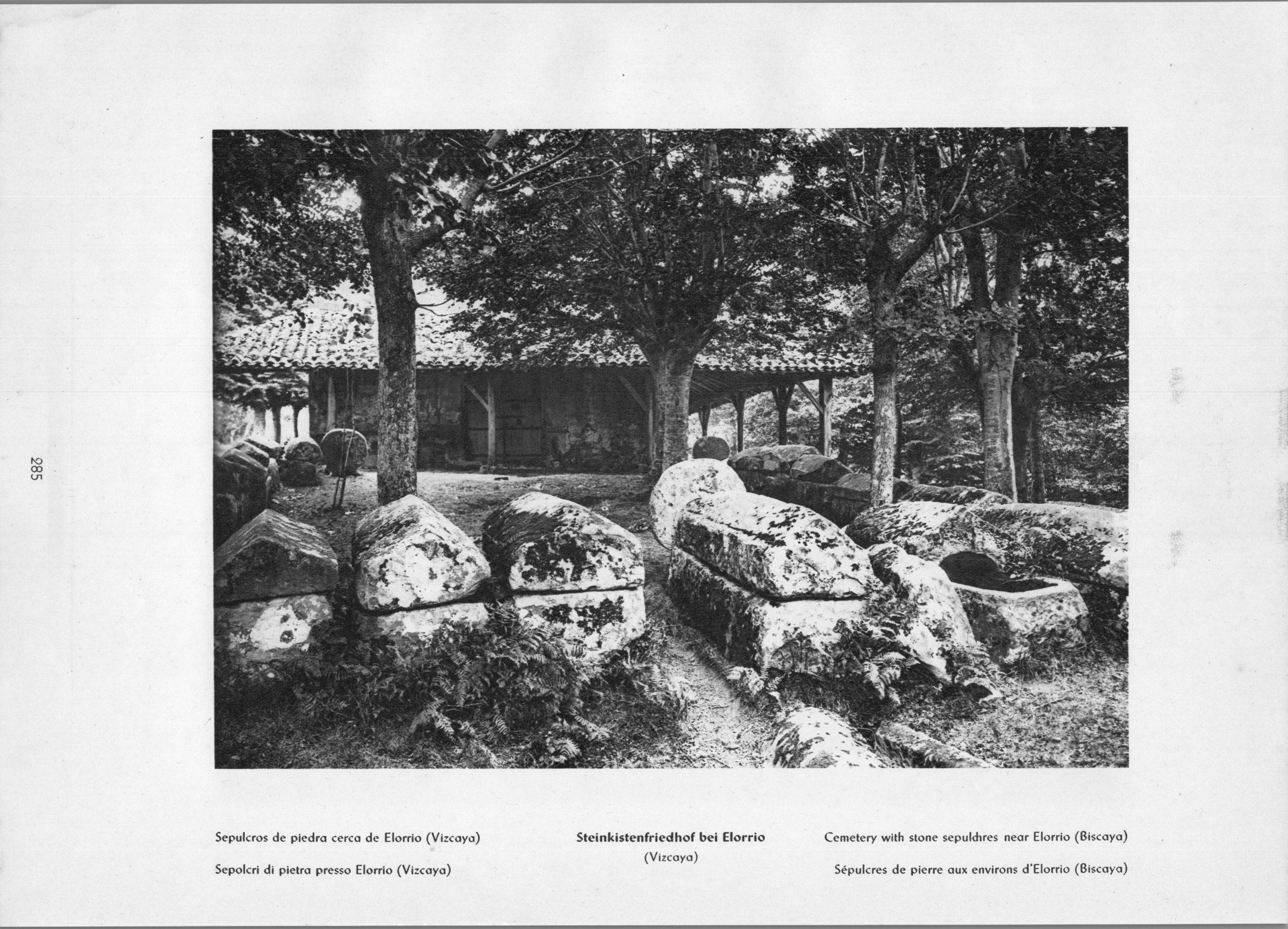 Vizcaya Elorrio - Sepulcros de piedra