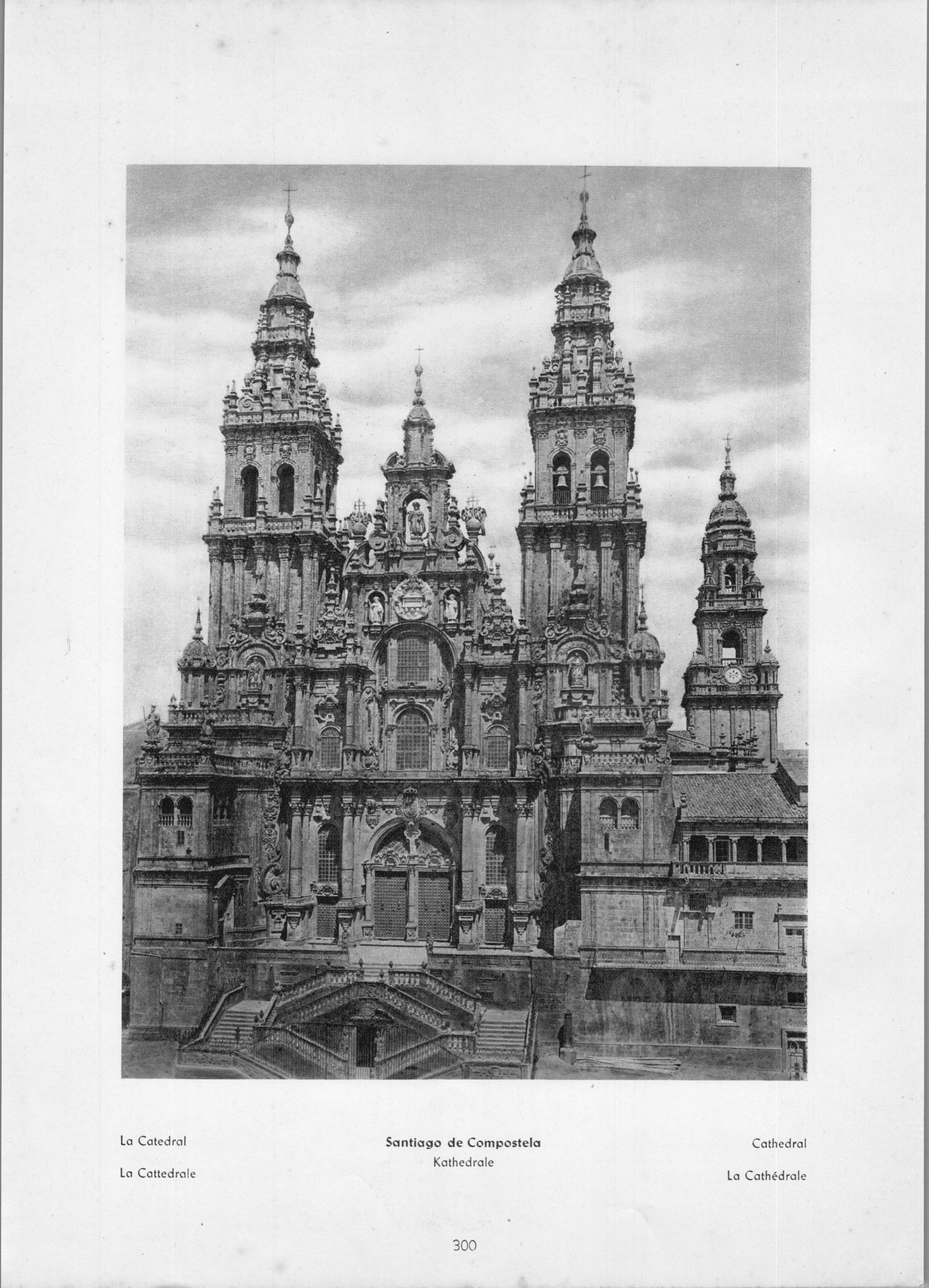 Santiago de Compostela - La Catedral